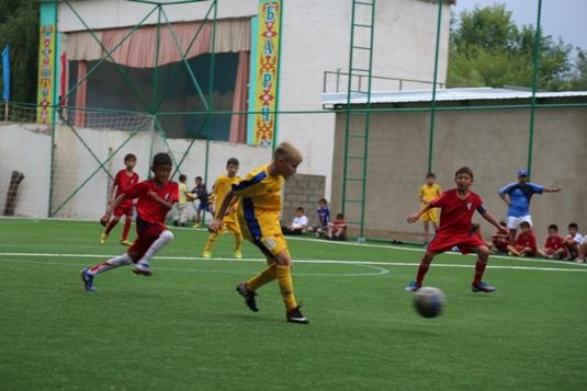 футбол на Иссык Куле